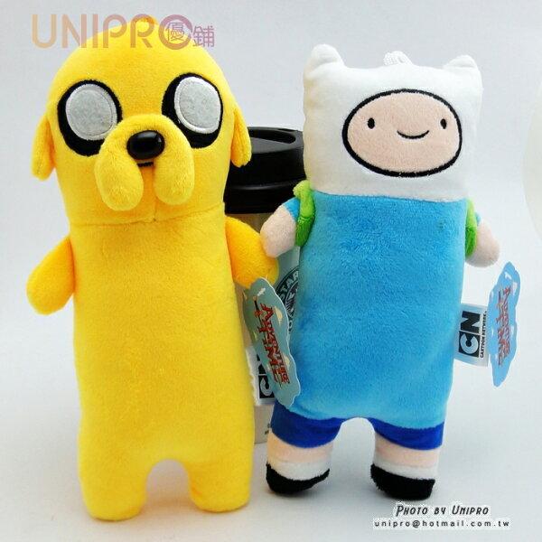 【UNIPRO】探險活寶 adventure time Q版老皮 阿寶 7吋 長抱枕 午安枕 玩偶 娃娃 正版授權