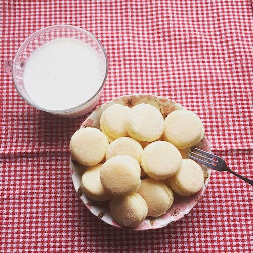 ❣林果屋❣ 古早味 台式馬卡龍 海綿小西餅 牛粒 手工 手作 好吃 團購 糕點 送禮推薦