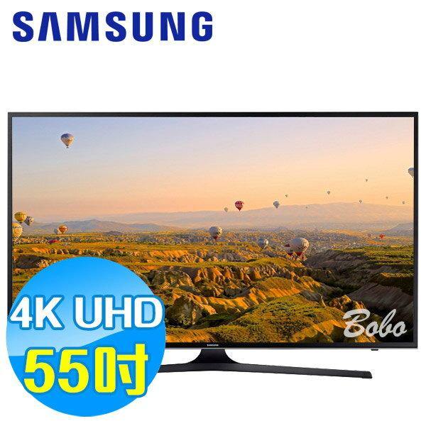 SAMSUNG三星 55吋 UHD 4K 平面液晶電視 UA55KU6000WXZW