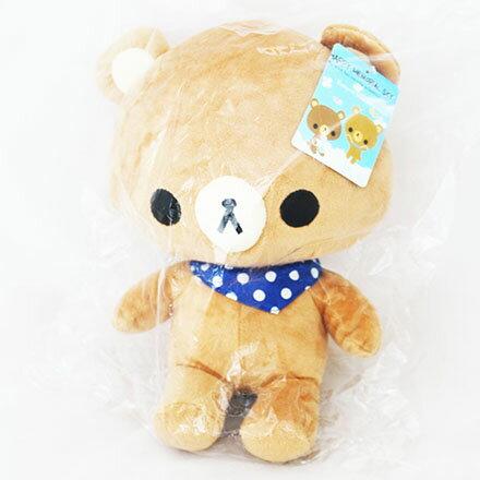[敵富朗超市]10吋領巾天空熊系列