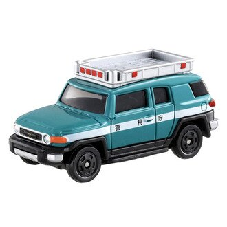 【奇買親子購物網】(31)【TOMICA多美小汽車】豐田Toyota FJ Cruiser police car 巡邏車 031_824831