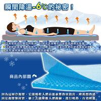 夏日寢具 | 涼感枕頭/涼蓆/涼被/涼墊到日本熱賣~Ice Cool降溫涼感凝膠床墊(70*140加重)!冰墊/涼墊!取代涼蓆! ★班尼斯國際家具名床