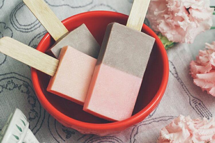《雪文洋行》沁透快樂冰棒皂-蘭布拉琥珀(琥珀白薑花)72%馬賽皂-70g 2