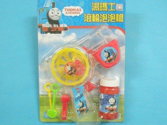 泡泡槍 湯瑪士滾輪泡泡槍玩具(免用電池)~授權商品/一支入{促99}