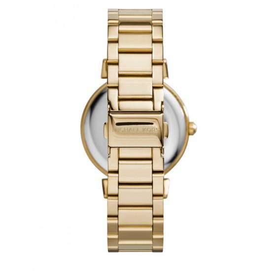 美國Outlet正品代購 MichaelKors MK 復古羅馬滿天星貝殼面鑲鑽金色    手錶 腕錶 MK3332 2