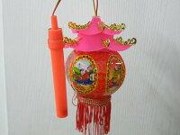 傳統燈籠 富貴手提燈光小宮燈 元宵燈籠(六角小宮燈)/{促60}一袋50個入