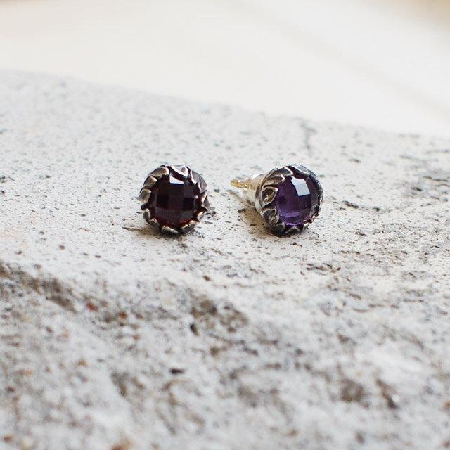 【現貨商品】【Bloody Mary】Purge 純淨紫水晶純銀耳環(BME1151-Ache  0603630000) 1