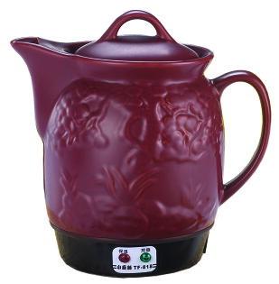 【小廚師】全自動3.5L陶瓷養生紫玉煎藥壺TF-818