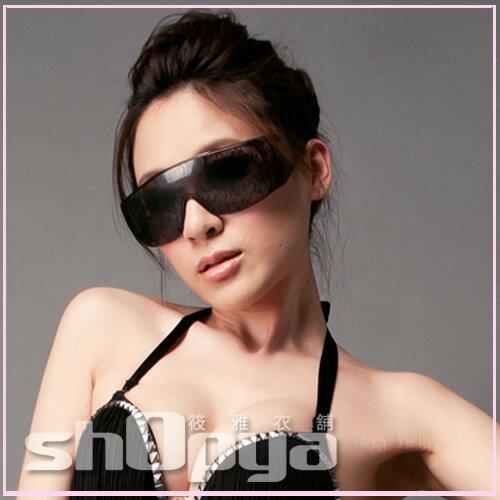 筱雅衣舖【A125】Lady Gaga炫麗蕾絲包花眼鏡~舞台造型