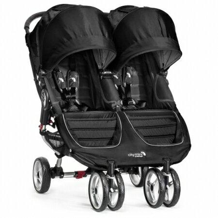 美國【Baby Jogger】Double雙人推車(黑) 0