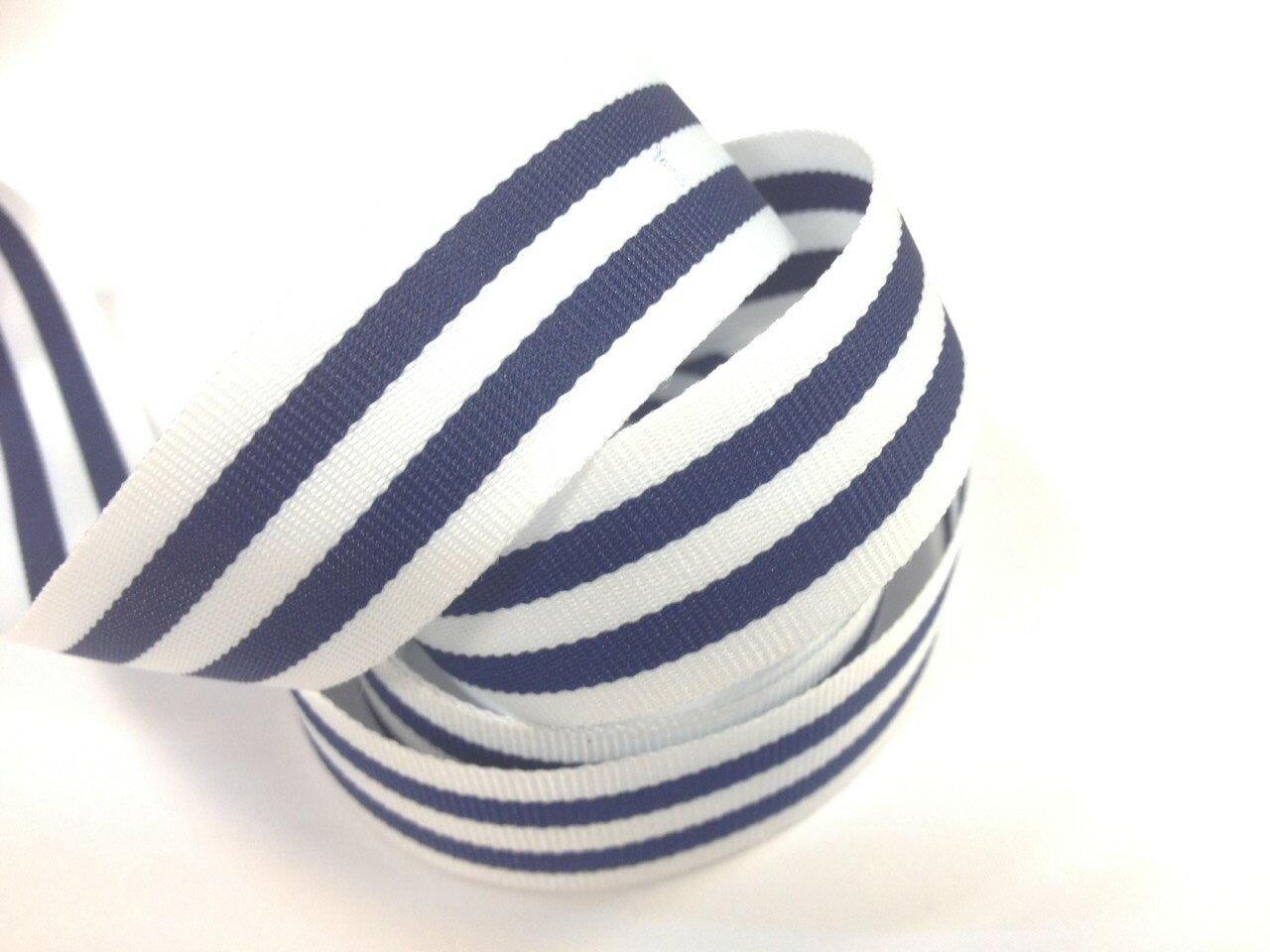 單色條紋平織帶-10mm(七色) 5