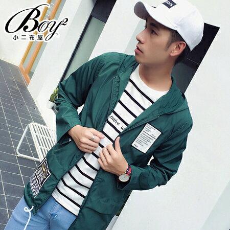 ☆BOY-2☆【NQ98018】美式休閒抽繩男裝飛行連帽外套 0