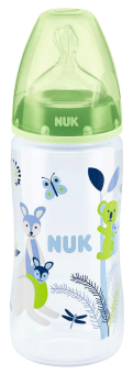 『121婦嬰用品館』NUK 寬口徑PP奶瓶300ml - (1號中圓洞) 4