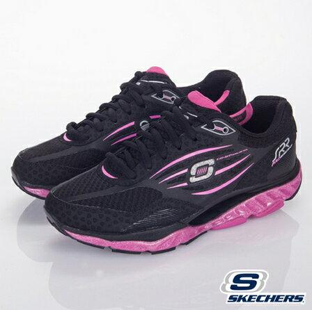 [陽光樂活] SKECHERS  女款 回彈力慢跑鞋 SRR 頂級健走鞋   -訓練專用第五代-99999742BKHP