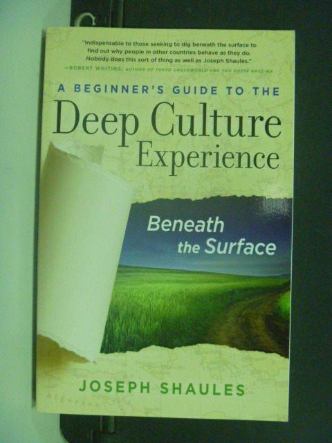 ~書寶 書T6/社會_KIH~A Beginner's Guide to the Deep