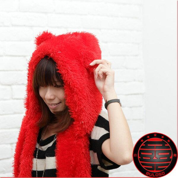 《不囉唆》vivi街頭潮品時尚保暖多色毛絨兔子韓版帽 保暖/絨毛/帽子(不挑色/款)【Y211192】