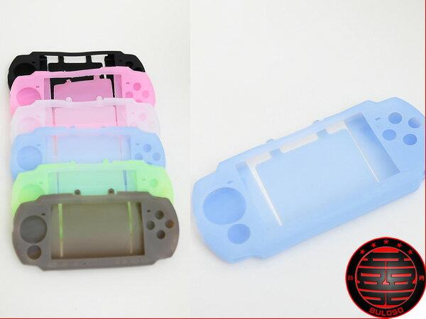 《不囉唆》PSP 3007/3000可掀後蓋矽膠套 果凍套/矽膠套/保護/主機套/PSP(不挑色/款)【A217101】