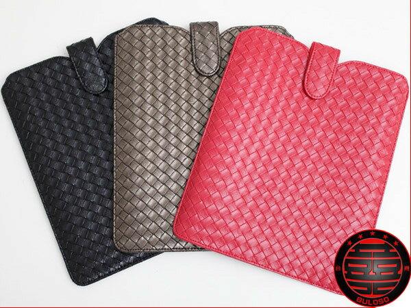 《不囉唆》【A227995】(不挑色) 簡約時尚適用於new ipad air 2 ipad mini 3 以及其他任何平板電腦/編織皮套 保護套 造型保護皮套