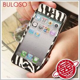 ~不囉唆~~A261524~^(不挑色^)5色動物斑馬紋 Iphone 5 前後保護貼 手