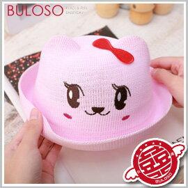 《不囉唆》【A268998】(不挑款)4款動物草帽/動物造型麻帽草帽 寶寶帽子兒童遮陽草帽