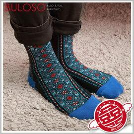 《不囉唆》【A272629】(可挑款) 多色民俗圖騰襪 文藝民俗風繽紛短襪