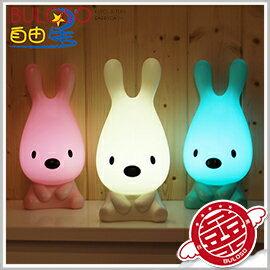 《不囉唆》USB哈尼犬觸控充電夜燈 LED/睡眠/節能燈/夜光燈/夜燈(可挑色/款)【A294850】