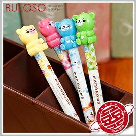 《不囉唆》可愛卡通趣味輕鬆熊自動鉛筆 造型筆/小熊/可愛筆/動物筆/文具(不挑色/款)【A295970】