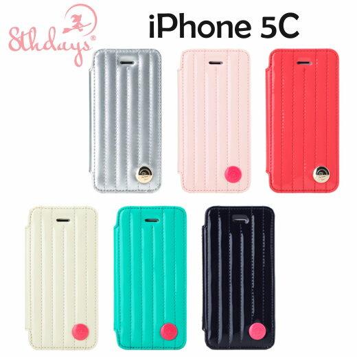【8thdays】Apple iPhone 5/5S 傑西心樂系列 TPU側掀皮套/保護套~
