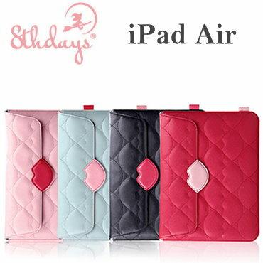 【8thdays】Apple iPad5/ iPad Air 夢露唇形系列 套入式皮套/保護套/內膽包~