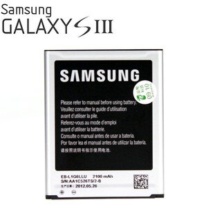 SAMSUNG Galaxy S3 原廠電池 / i9300 原廠電池~EB-L1G6LLU~3.7V 2100mAh