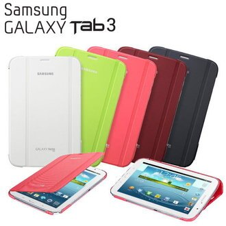 【原廠精品】Samsung TAB 3 7.0/T2100/T2110  Book Cover ☆原廠書本式保護套☆皮套~EF-BT210W