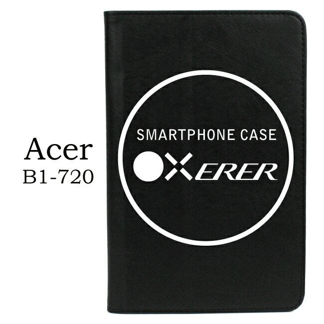 【PC-BOX】ACER Iconia B1-720 7吋平板書本式掀蓋保護套 (黑色)