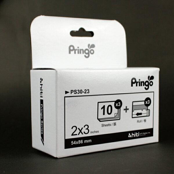 【PC-BOX】HiTi Pringo P231  隨身行動相片印表機/相印機專用30入相紙PS30