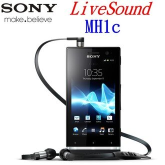 (原廠盒裝) SONY LiveSound MH1c 第二代原廠Hi-Fi 線控耳機 (3.5mm)~適用:Xperia S/LT26I/ Xperia U/ST25i/Xperia P/LT22/Xperia Sola/MT27i/ion LT28i~