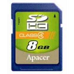 【高速Class 4】APACER 宇瞻 SDHC 8G/SD 8G ~公司貨終身保固~Class 4