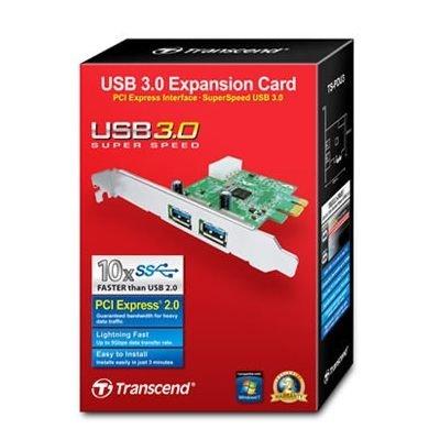 *╯新風尚潮流╭*創見 PDU3 USB3.0 擴充卡 2埠 傳輸最快 極速原廠NEC晶片 PCI-E 介面 PCI E TS-PDU3