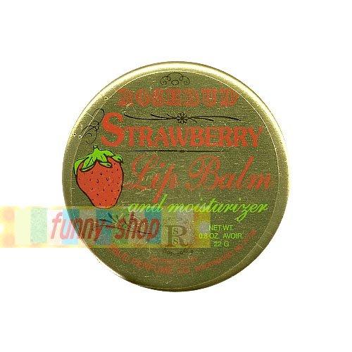 【巴布百貨】ROSEBUD STRAWBERRY 草莓 護脣膏 (22g)