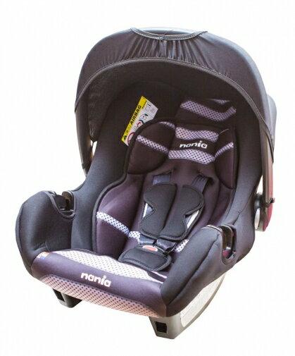 『121婦嬰用品館』納尼亞 提籃式汽座 - 素黑 FB00018 0