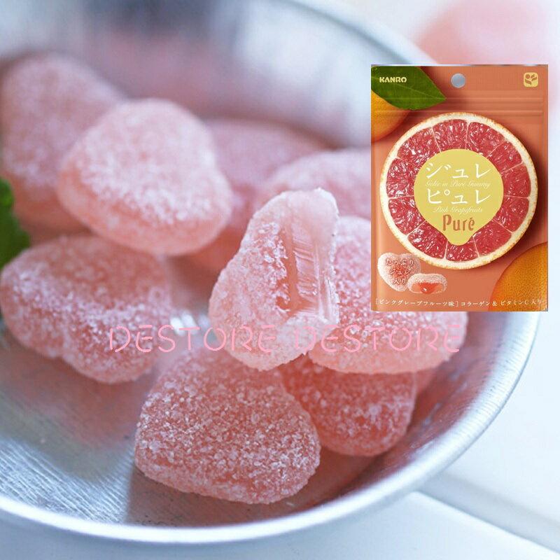有樂町進口食品 甘樂Pure青蘋果軟糖63g J45 4901351059326 5