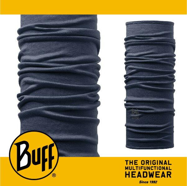 BUFF 西班牙魔術頭巾 美麗諾羊毛系列 ^~丹寧素面^~ BF108811
