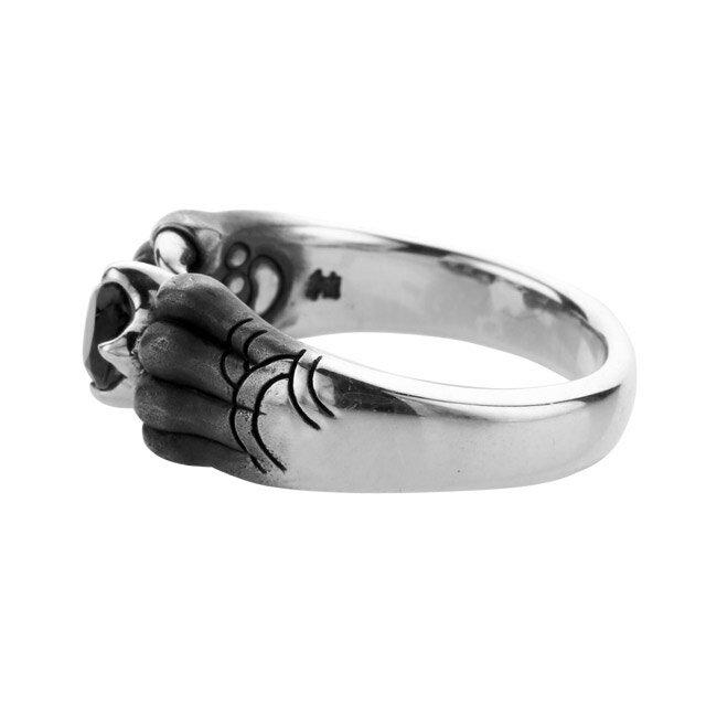 【海外訂購】【Bloody Mary】Aslan 阿斯蘭獅爪純銀戒指 尖晶石(BMR1386-Bsp) 2
