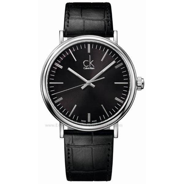 CK 環繞系列(K3W211C1)精緻黑時尚腕錶/黑面42.8mm
