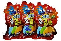 小熊維尼周邊商品推薦(馬來西亞) 霹靂腳ㄚ  跳跳糖 棒棒糖 草莓腳ㄚ 1盒 260公克 (20包入)  特價 169 元 【9555021810585】 ( 同學會 二次進場 聖誕節 萬聖節 必備 )