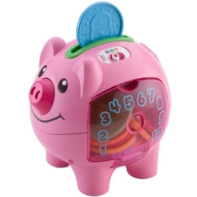 『121婦嬰用品館』費雪 智慧學習小豬撲滿 0