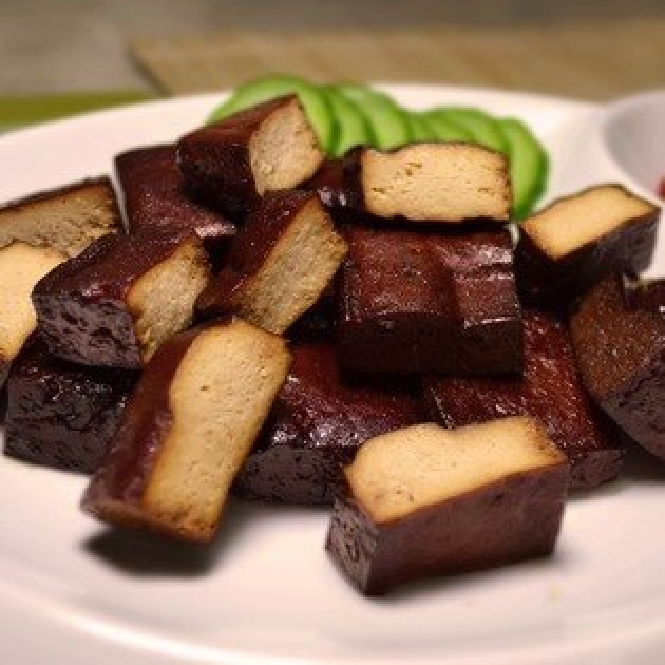 【珍廚坊】醬滷香Q小豆干|新鮮現滷|非基改黃豆|團購美食|真空包裝退冰即食‧滷汁飽滿美味健康新選擇