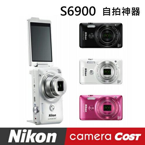 【SanDisk32G超值組】Nikon COOLPIX S6900 數位相機 翻轉螢幕 - 限時優惠好康折扣
