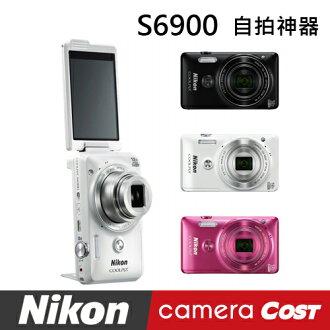 【SanDisk32G超值組】Nikon COOLPIX S6900 數位相機 翻轉螢幕