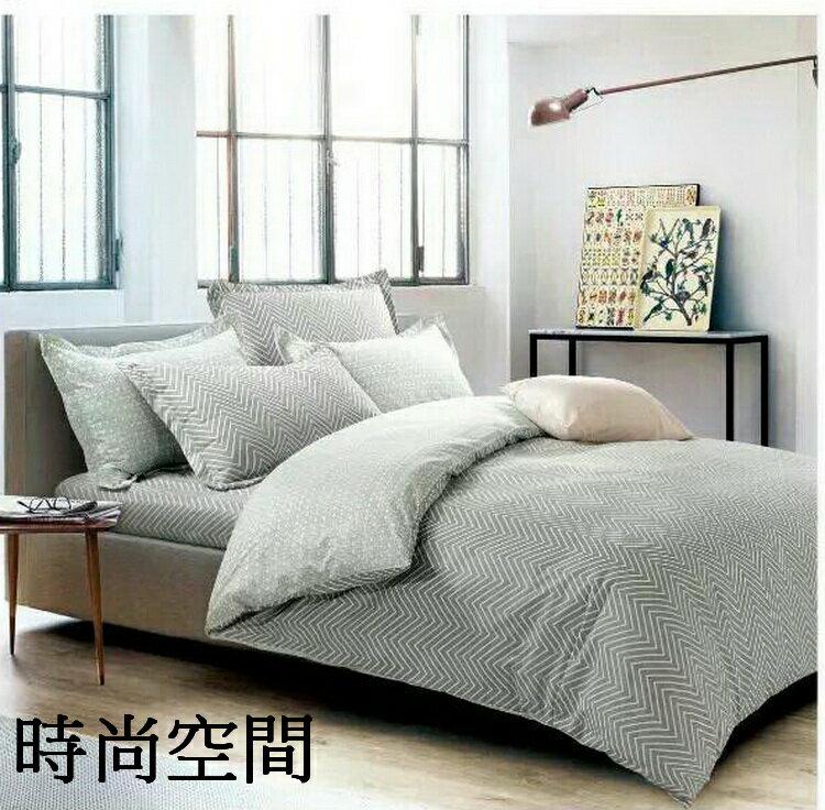 [床工坊]-超細聚酯纖維(時尚風格)薄被單摩毛四件組)一般雙人五尺 4