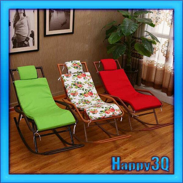 辦公室庭院客廳健康生活退休老人舒適休閒手工編織藤椅搖搖椅-黃/棕/咖【AAA0940】