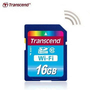 可傑 Transcend 創見 16G Wi-Fi SD 記憶卡 + RDP5 讀卡機